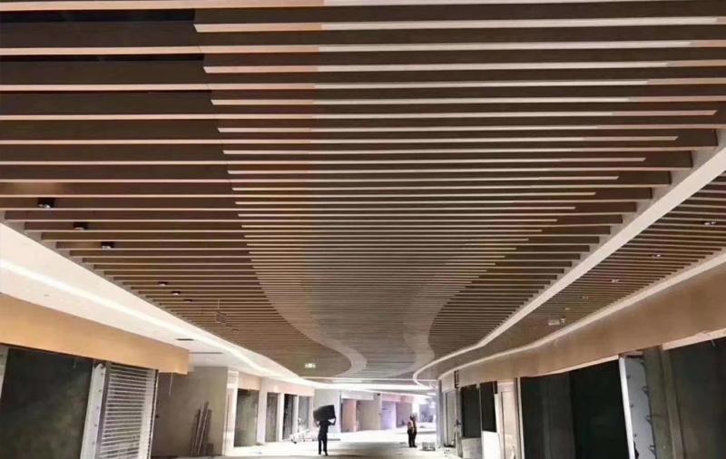 铝方通吊顶工程案例